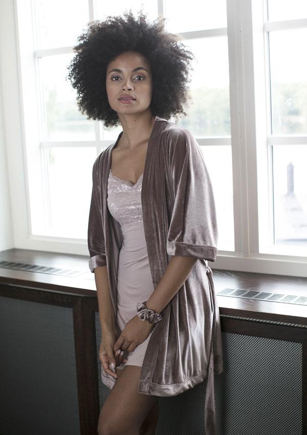 Milook Sofia Velvet Dress